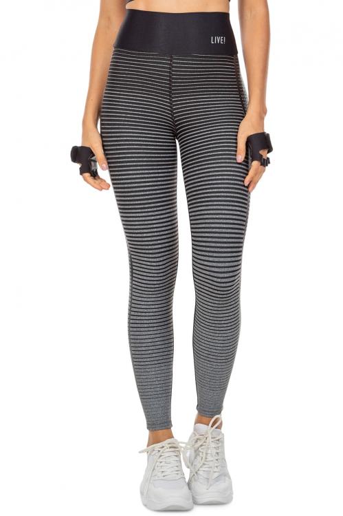 Calça Legging Stripe Effect Vibes