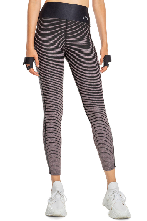 Calça Legging Stripe Effect Vibes