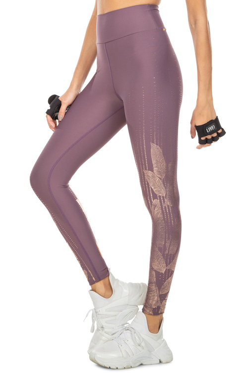 Calça Legging Golden Lines