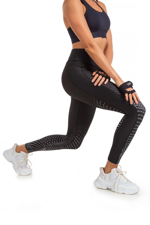 Calça Legging Duo Topographic