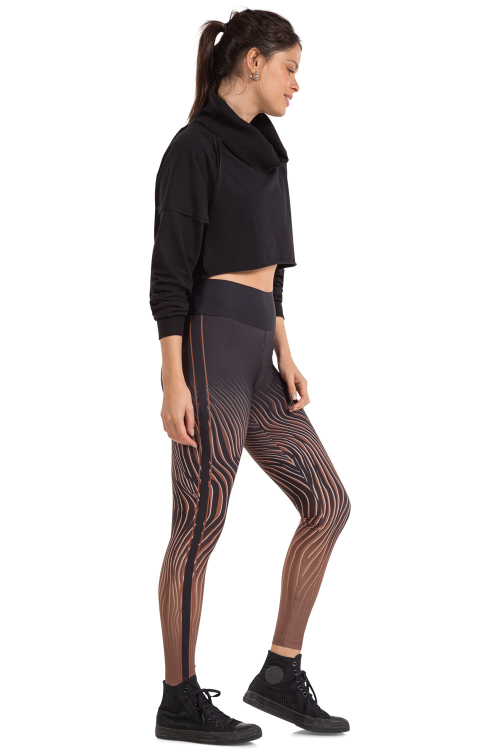 Calça Legging Lion Effect