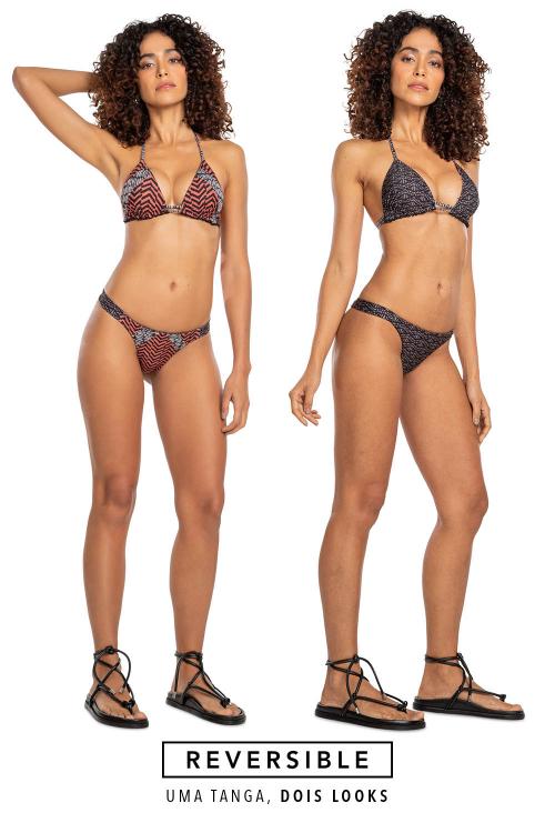 Tanga Slim Duo Reversible Hawaii