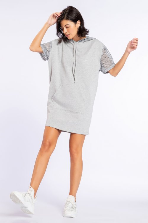 Vestido Hood Urban Style
