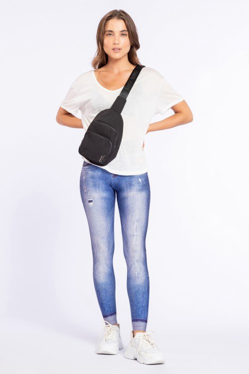 Calça Legging Jeans Original Essential