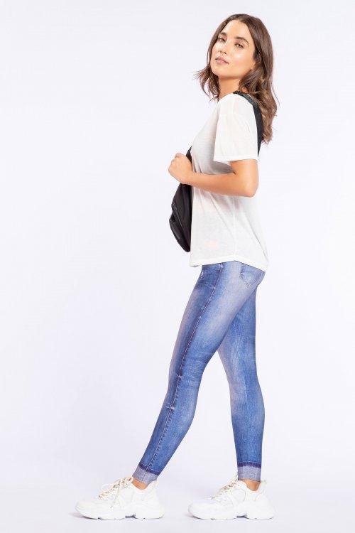 Calça Legging Jeans Original Essential