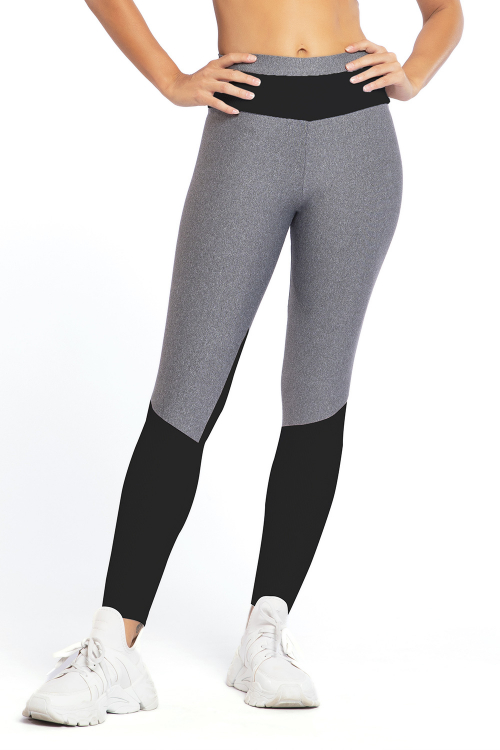 Calça Legging Color Block
