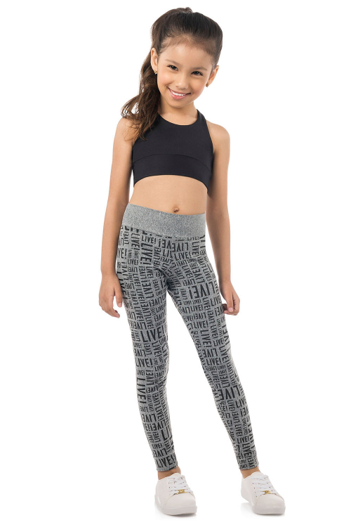 Calça Legging Live! Essential Kids