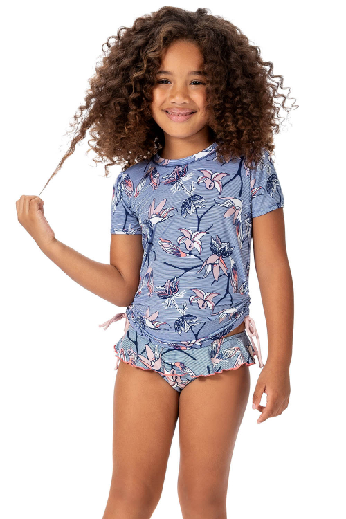 Blusa Happiest Vacation Kids Glow