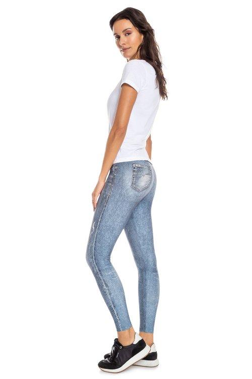 Calça Legging Jeans Daily Look