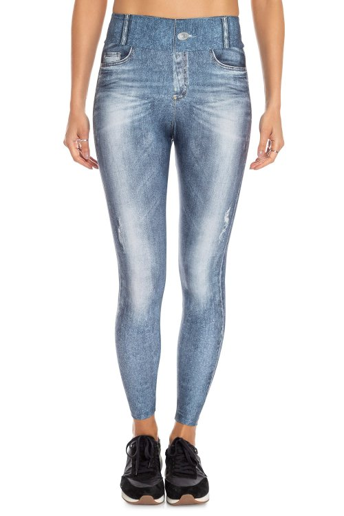 Calça Legging Jeans Daily Look
