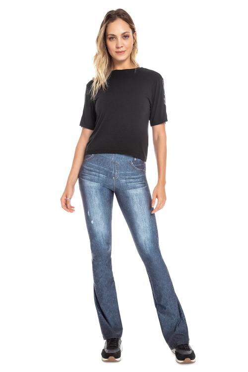 Calça Flare Jeans Beat
