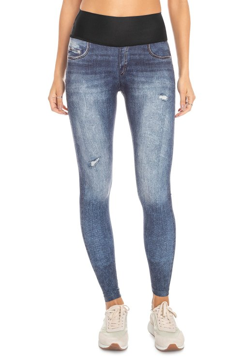 Calça Fusô Jeans Reversible Nature