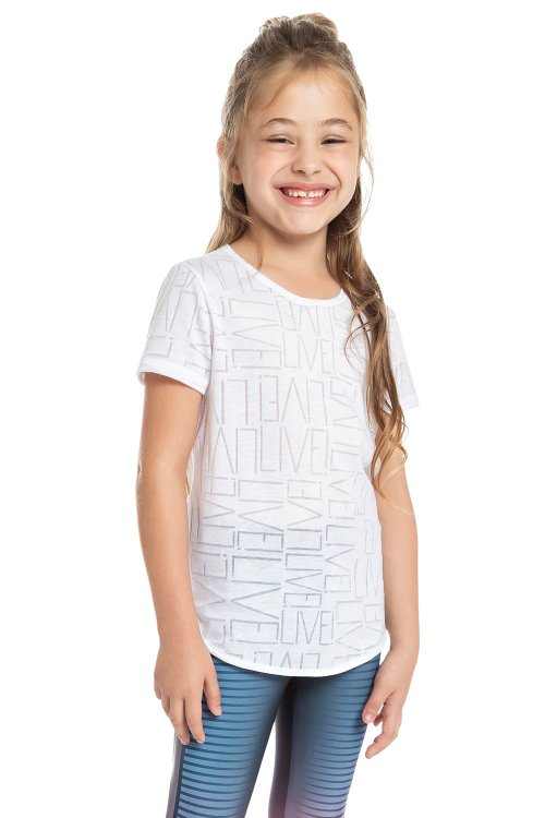 Blusa Fresh Workout Kids