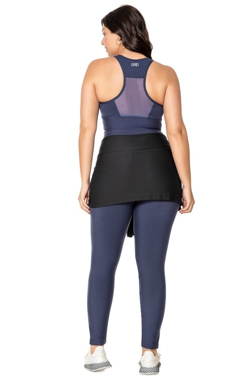 Hip-Cover Fresh Basic Plus Size