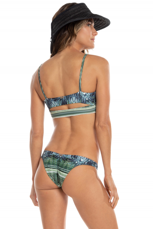Top Bandeau Refine Tropical