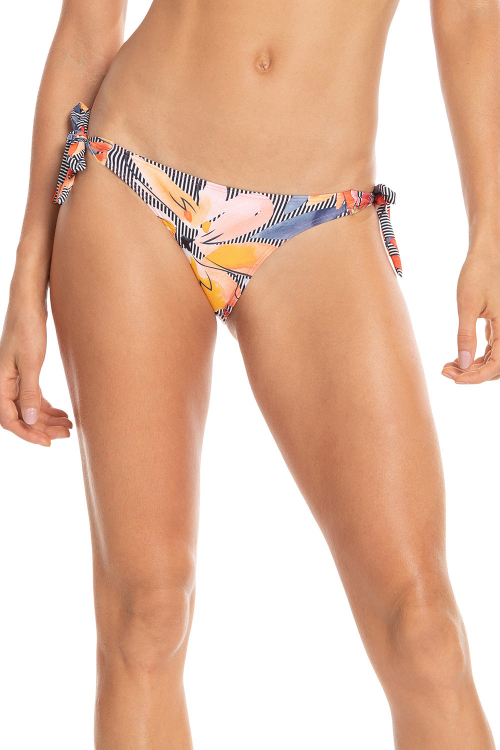 Tanga Lace Up Floral Premier