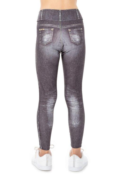 Calça Legging Jeans Daily Look Kids