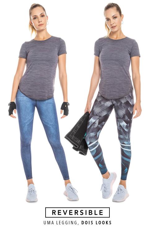 Calça Fusô Jeans Reversible Motion