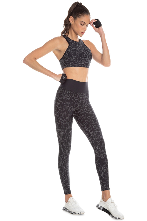 Calça Legging Geometric Full