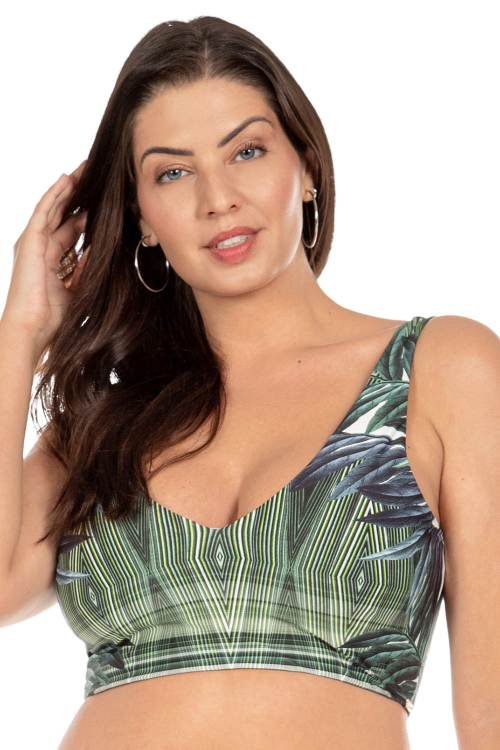Top All In One Full Botanic Plus Size