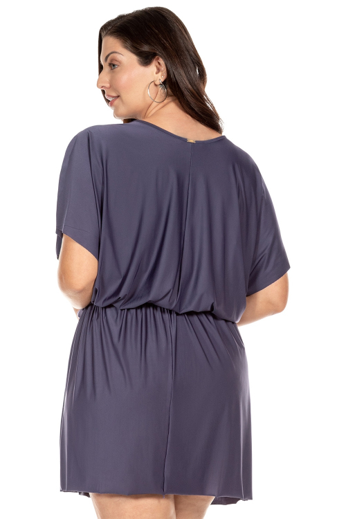 Vestido Color Essential Plus Size