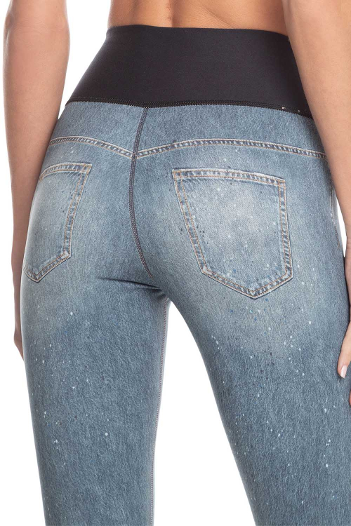 Calça Fusô Reversible Jeans Animal