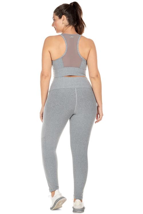 Calça Legging Fusion Plus Size