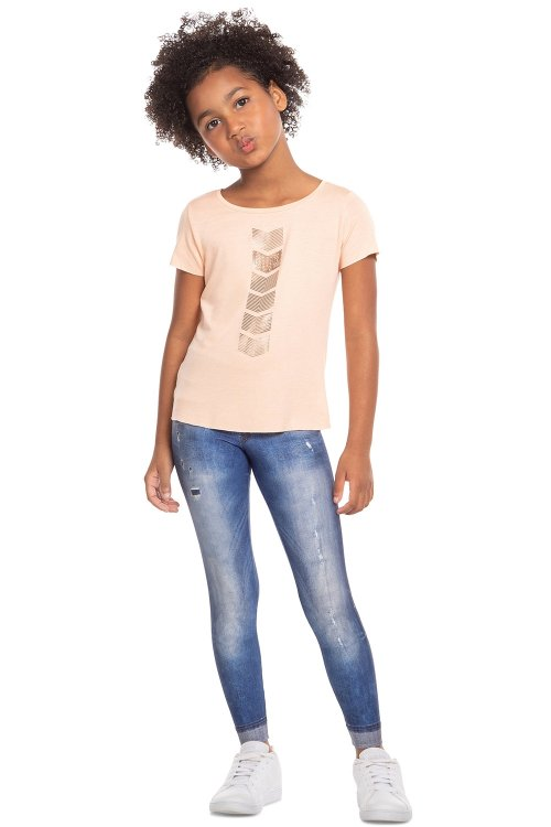 Calça Legging Jeans Originall Kids
