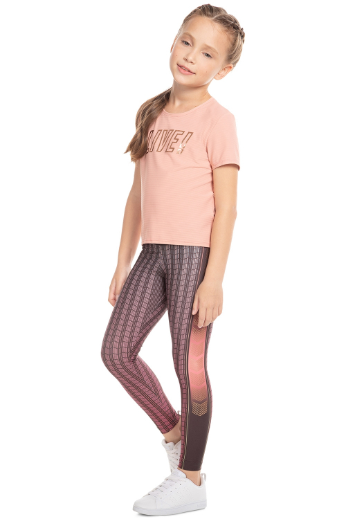 Calça Legging Rush Effect Kids