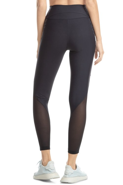 Calça Legging Geometric Feature