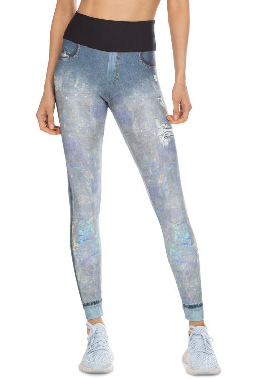 Calça Legging Hologram Jeans