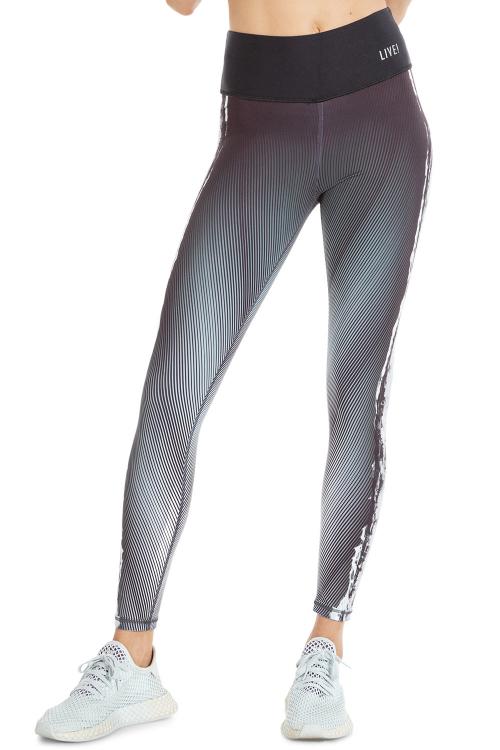 Calça Legging Reversible Tie Mix