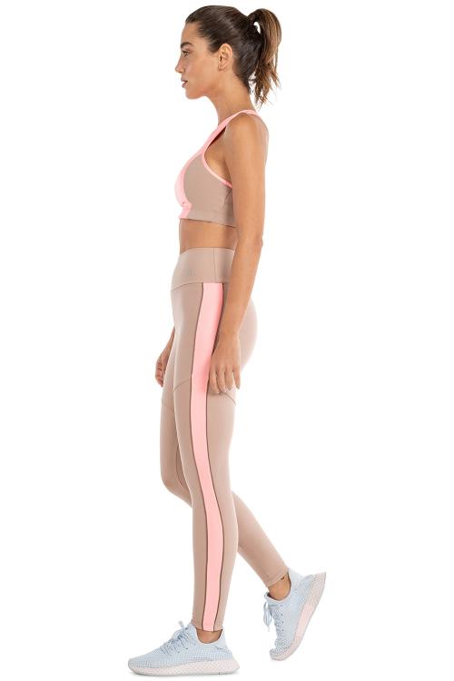 Calça Legging Color Block