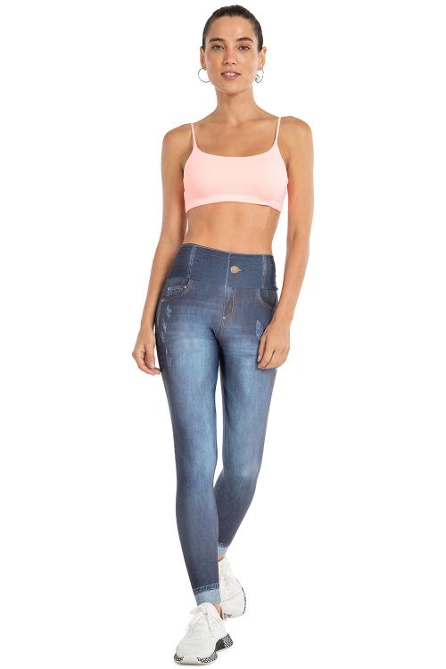 Calça Legging Jeans Plus Motivation