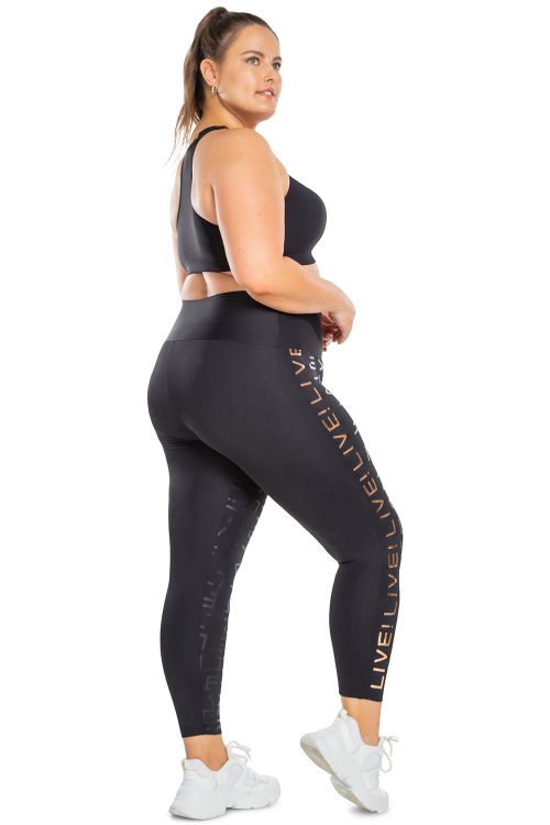Calça Legging Icon Lux Plus Size