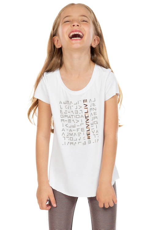 Blusa LIVE! Icon Lux Kids