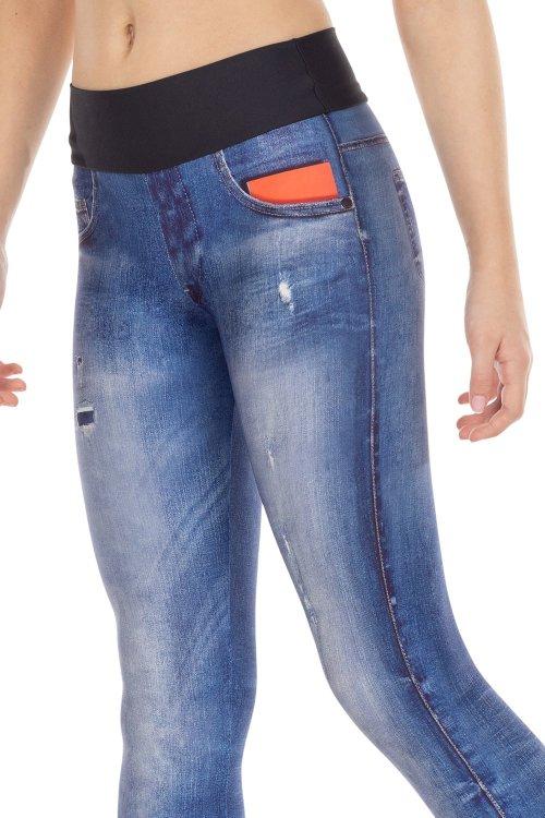 Calça Legging Jeans Original Kids