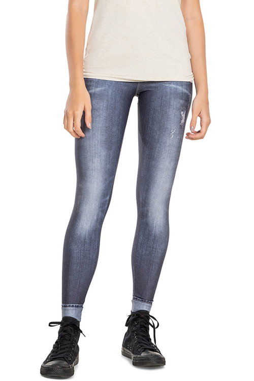 Calça Legging Jeans Power