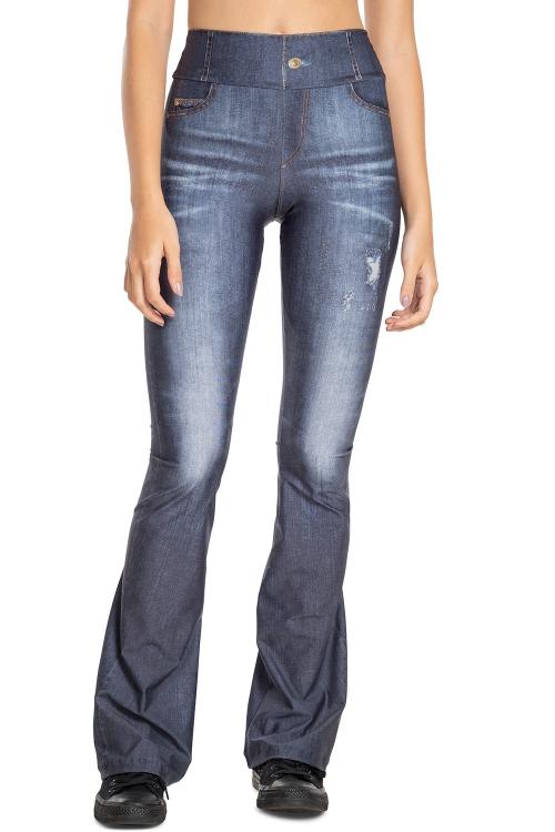 Calça Flare Jeans Power