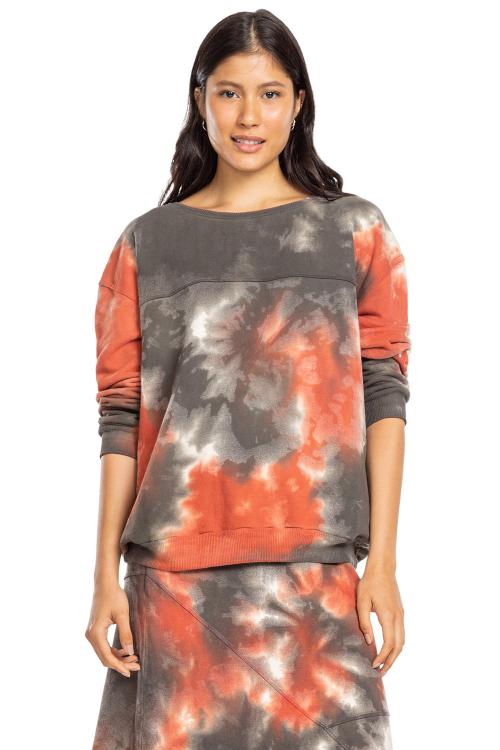 Sweatshirt Techno Tie Dye