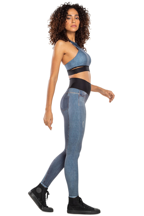 Top Reversible Jeans Jurerê