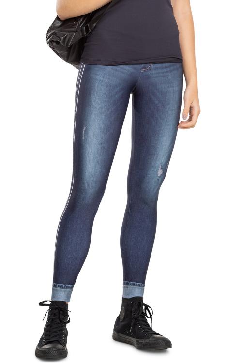 Calça Legging Jeans Sportif Jurerê