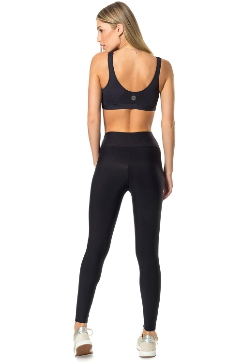 Top Active Original e Calça Fusô Active Essential Preto