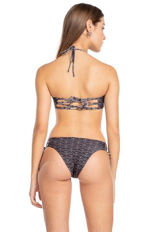 Biquíni Bandeau Cross Lace Hawaii